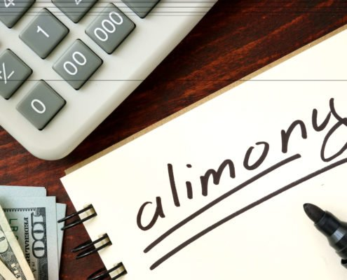 alimony garnishment