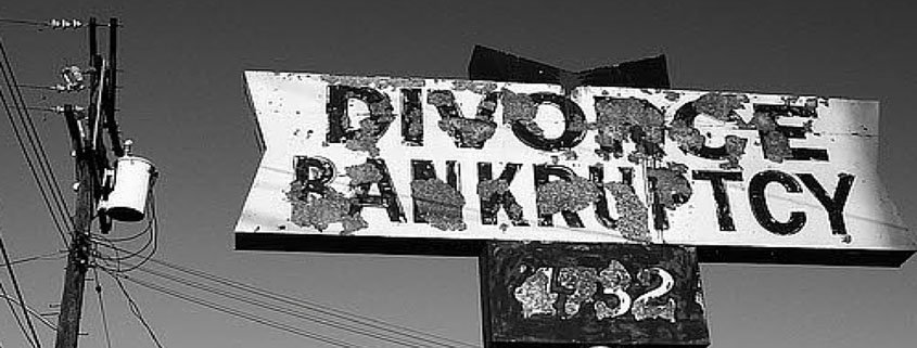 Divorce and Bankruptcy: What Happens First (And Why It Matters)